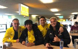 Jong Feyenoord op weg naar Engeland
