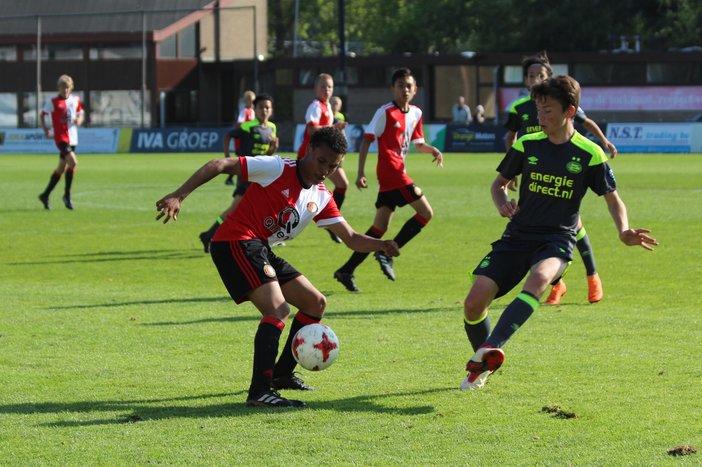 Zuur competitieslot voor Feyenoord Onder 14