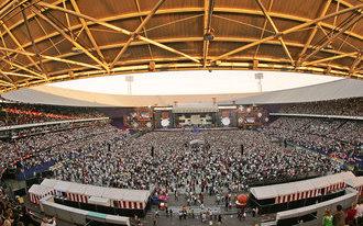 Rammstein in De Kuip: 'In een oud stadion voelen zij zich goed'
