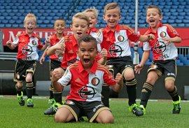 Eerste trainingen Feyenoord Academy teams 2016-2017