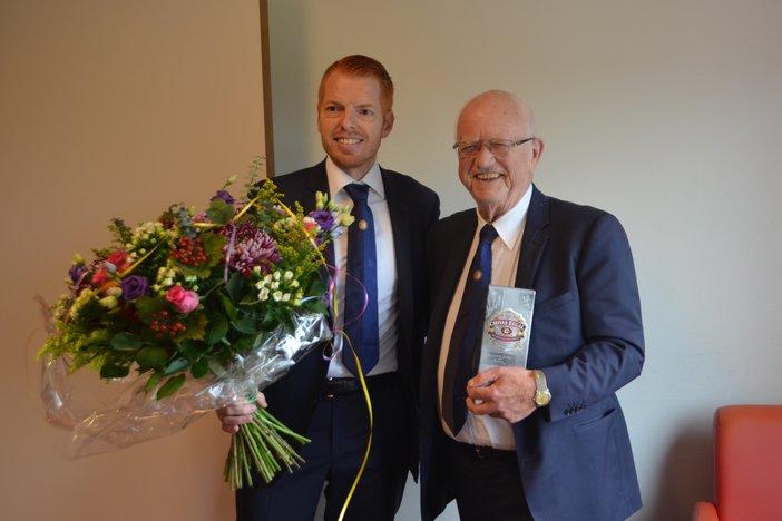 Herman van der Graaff viert 75e verjaardag