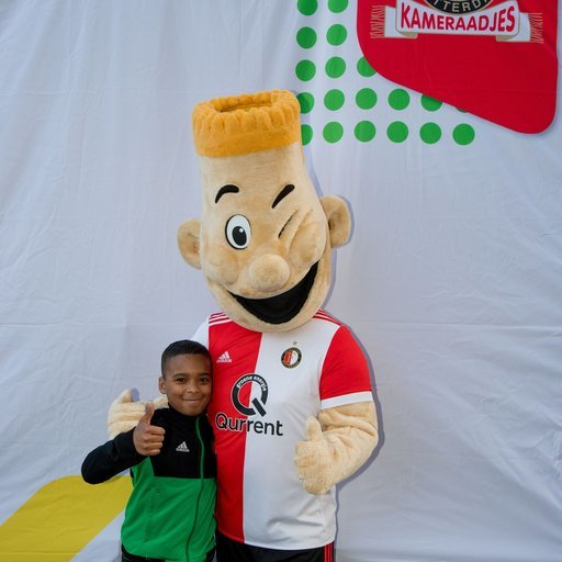 Kameraadjeswedstrijd Feyenoord - ADO Den Haag