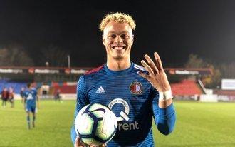Achtklapper voor Jong Feyenoord tegen Sparta Praag U23