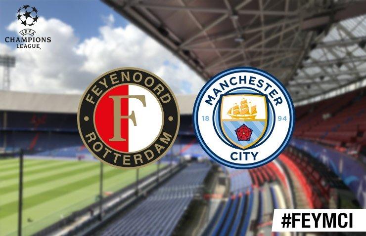 Voorbeschouwing Feyenoord - Manchester City