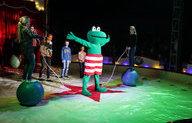Kidshelden Circus in Feyenoord-stijl naast De Kuip