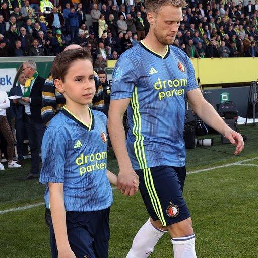 Wedstrijdmascottes Fortuna Sittard - Feyenoord
