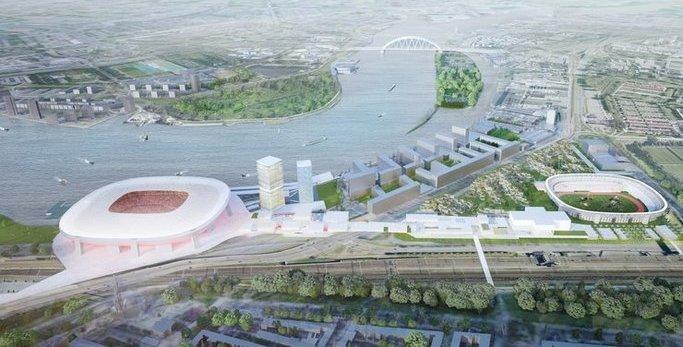 Groen licht voor ontwikkeling Feyenoord City