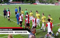 Nabeschouwing Feyenoord O15-Vitesse O15 17-9-2016
