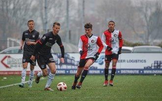 Feyenoord Onder 17 zo goed als zeker van kampioenspoule