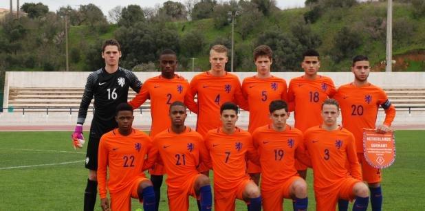 Remise Nederland Onder 17 tegen Duitsland