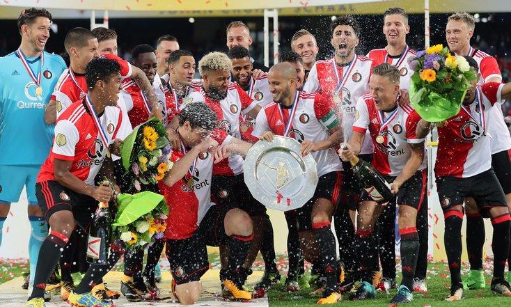 In beeld: Feyenoord wint Johan Cruijff Schaal XXII