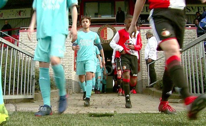 Nabeschouwing Feyenoord O15-FC Twente O15 11-3-2017