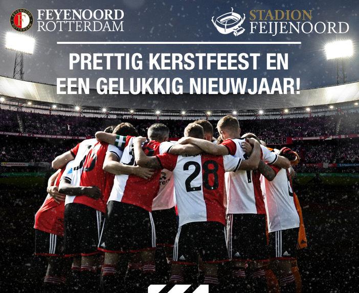Feyenoord Academy wenst iedereen prettige kerstdagen