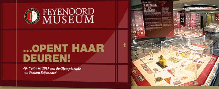 Feyenoord Museum opent haar deuren!