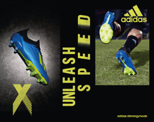 20180608 Adidas unleash speed