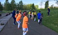 Street League-teams werken samen op Sportdag
