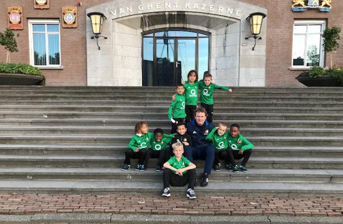 Feyenoord Onder 7 en Onder 8 aan de slag met extra activiteiten