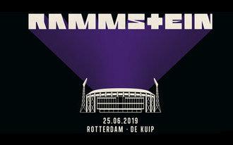 Dinsdag hitteplan tijdens concert Rammstein