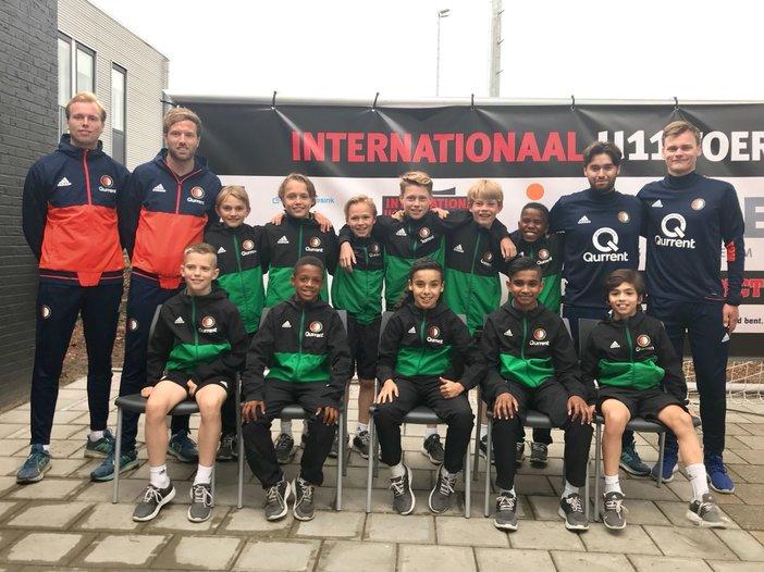 Feyenoord Academy teams actief in Europa in het weekend van 2 en 3 juni