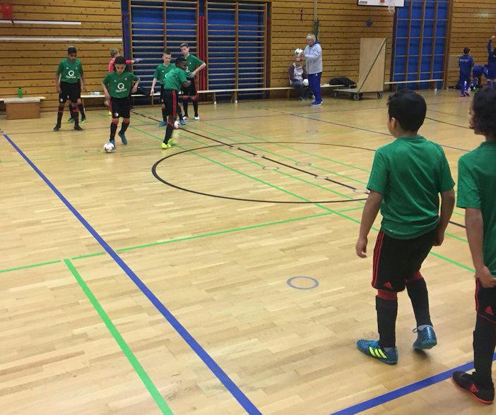 Feyenoord O11 en O12 actief in de zaal in Duitsland