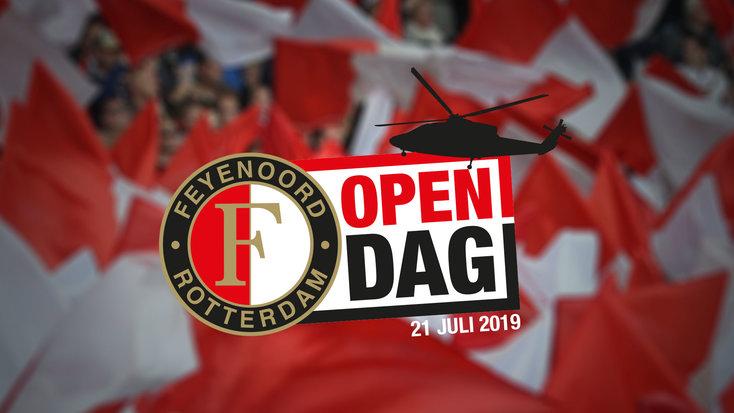 Kom naar de Open Dag van Feyenoord in De Kuip