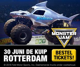 Monster Jam banner B