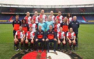 Feyenoord zoekt trainer voor meiden Onder 15
