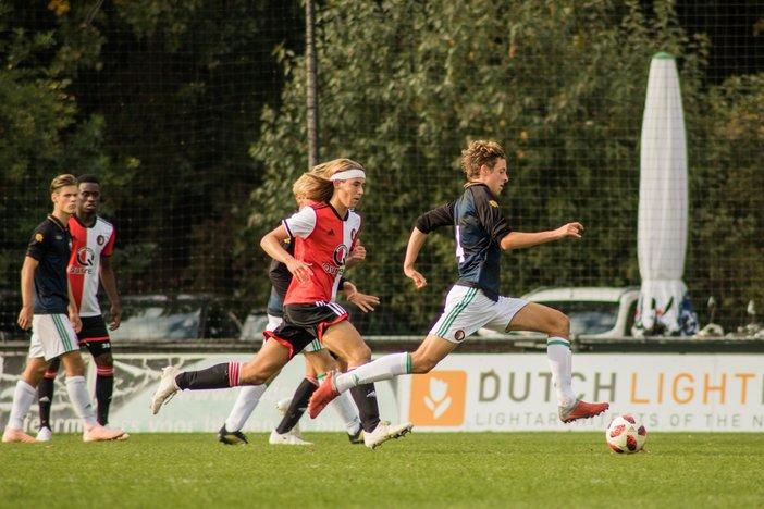 Feyenoord O19 geeft goede voorbeeld tegen Willem II