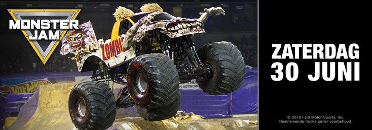 Monster Jam neemt De Kuip in Rotterdam over