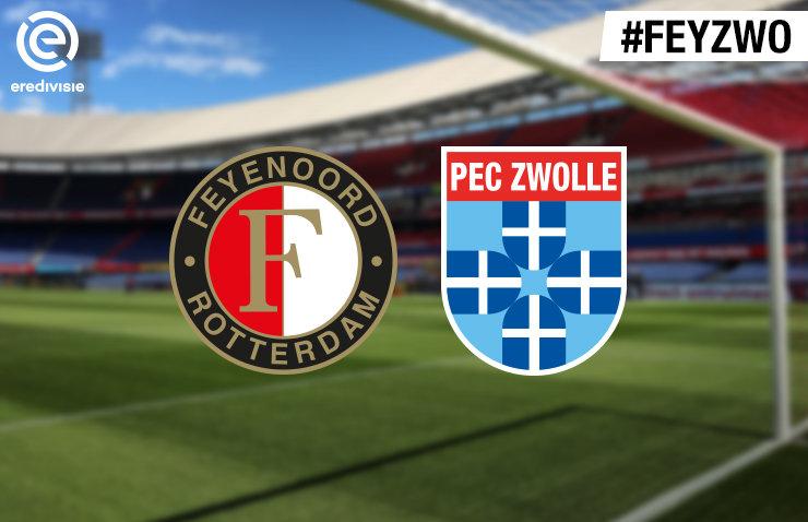 Voorbeschouwing Feyenoord – PEC Zwolle
