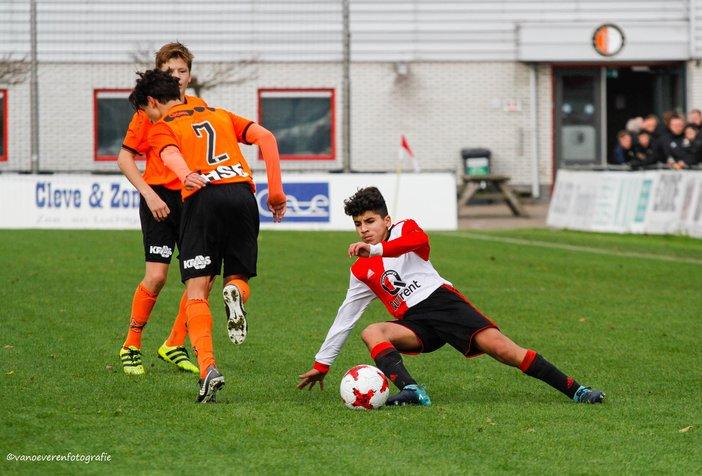 Feyenoord Onder 17 zet zegereeks voort