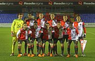 Feyenoord Onder 19 strijdend ten onder in achtste finales