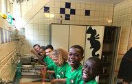 Feyenoord onderbouw op trainingskamp in Austerlitz
