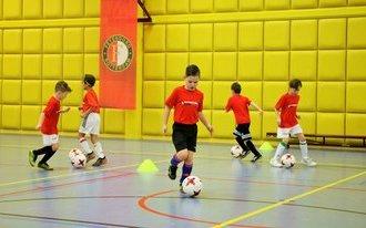 Uniek kerstcadeau: de Feyenoord-Zaalclinic