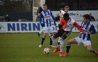 Feyenoord Onder 19 rekent na rust af met Heerenveen