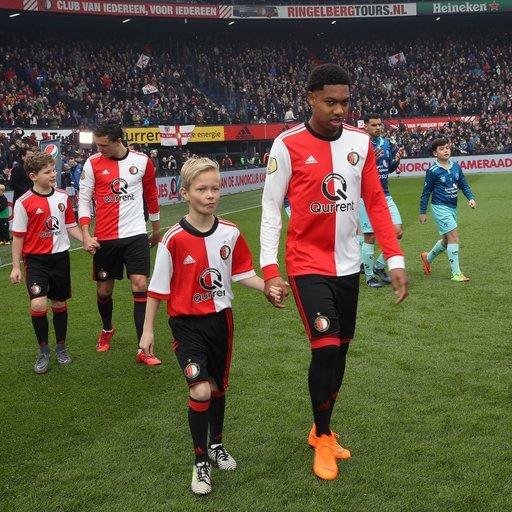 Feyenoord - Excelsior Wedstrijdmascottes
