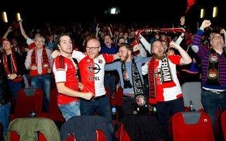sc Heerenveen – Feyenoord in Pathé De Kuip