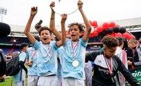 Team Piva kroont zich in De Kuip tot Street League-kampioen