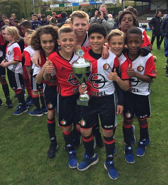 Feyenoord Academyteams actief op toernooien in Paasweekend Zondag update
