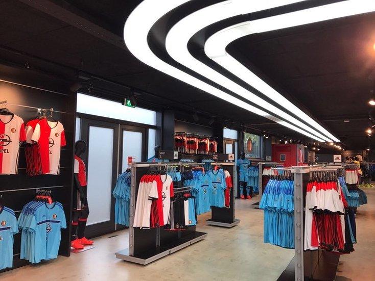 Feyenoord Fanshops en Brasserie geopend op Hemelvaartsdag