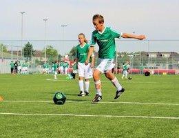 5% korting op trainingen, camps en clinics van Feyenoord Soccer Schools