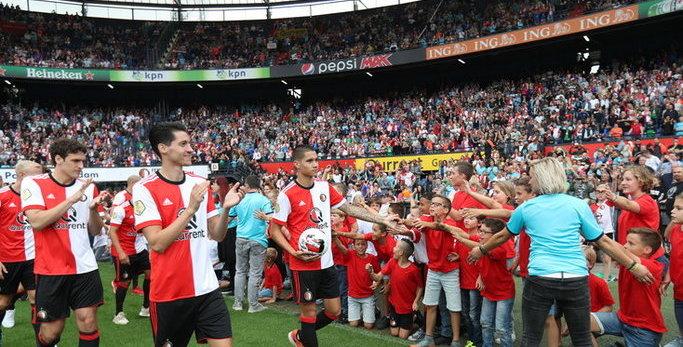In beeld: fantastische open dag Feyenoord