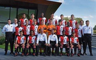 Feyenoord Onder 16 maakt zich op voor kampioenswedstrijd