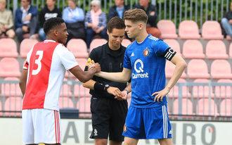 Restant kampioenswedstrijd Feyenoord O19 op zaterdag 1 juni