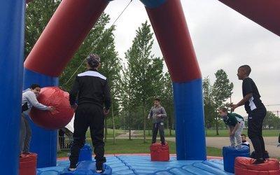 Sportdag valt in de smaak bij deelnemers én familie