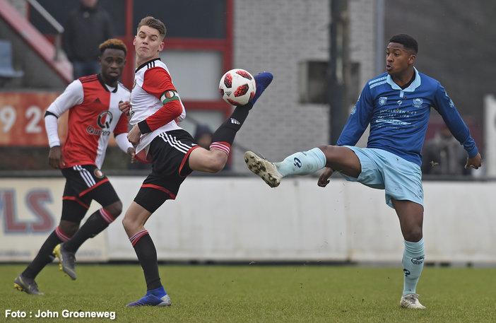Bekertoernooi vroeg ten einde voor Feyenoord O19
