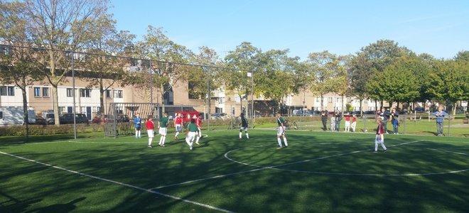 Zon en sportiviteit tijdens tweede speelronde Street League