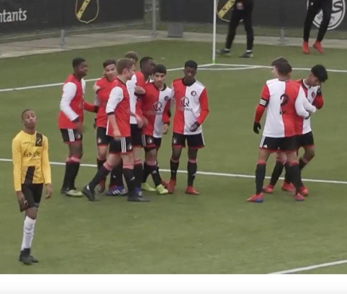 Feyenoord O17 naar halve finales bekertoernooi