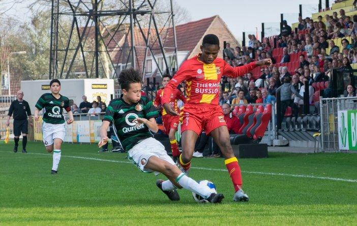 Feyenoord Onder 17 en Onder 13 klaar in bekertoernooi