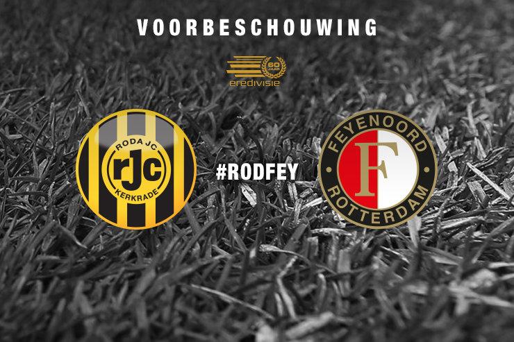Voorbeschouwing Roda JC Kerkrade - Feyenoord
